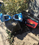 HoverBoard Off Road Blue Water 10 inch cu Bluetooth, Telecomanda