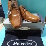 Pantofi barbati Mercedes, 42, Maro