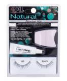 False Eyelashes Ardell Natural Dama 1ML Fake eyelashes Demi Wispies 110 1 couple + Algae adhesive 2,5 g + applicator