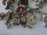 Bratara argint cu charmuri -4197