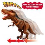 Dinozaur cu lumini si sunete - T-Rex