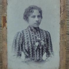 Portret domnisoara// J. Jerome, Karansebes, Caransebes