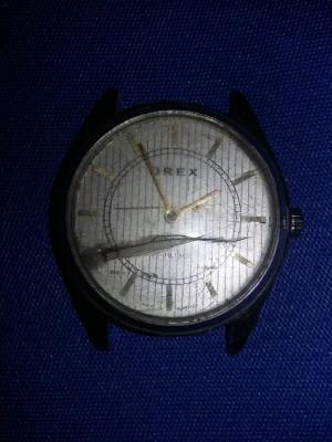Ceas Orex vechi, 17 rubine, mecanic,ceas de mana original,Functional,Tp.GRATUIT foto