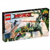 LEGO® Ninjago - Robotul-balaur Ninja Verde (70612)