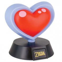 Veioza Zelda Heart Container 3D Light
