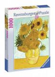 Puzzle Van Gogh Sunflowers (1000 Pcs), Ravensburger