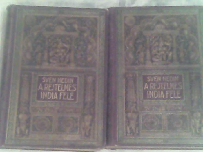 A rejtelmes india fele-I-II-Sven Hedin