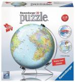Puzzle 3D The World On V-Stand Globe (540 Pcs), Ravensburger