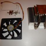 Cooler Scythe cupru nichel pentru overclock AMD AM2 AM3 AM4 FM1 FM2