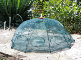 VARSA- Varsa tip umbrela cu 10 intrari  Capcana pt pestisori sau raci Eco-- 90cm | arhiva Okazii.ro
