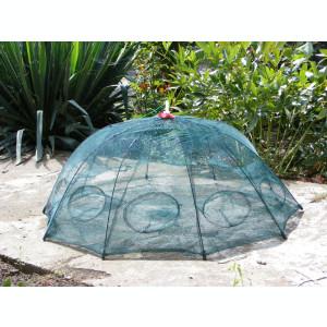 Varsa tip umbrela cu 8 intrari - Capcana pt pestisori sau raci cu plasa eco