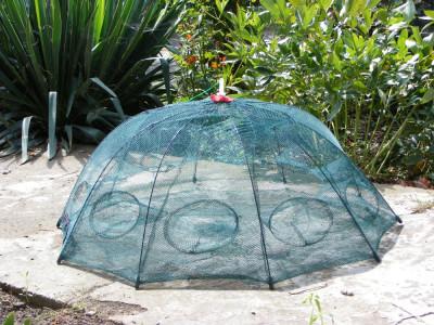 VARSA- Varsa tip umbrela cu 10 intrari  Capcana pt pestisori sau raci Eco-- 90cm foto