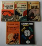 Vladimir Colin - Lot 5 carti - romane SF, Alta editura, Herman Melville