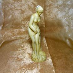 Statueta alabastru Artemis nuda, colectie, cadou, vintage