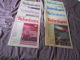 Revista Tehnium 1992 nr. 3,4,6,7,8,10,12