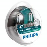 Set 2 Becuri auto far halogen Philips H7 Xtreme Vision, +130%, 12V, 55W, Becuri auto H7