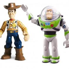 Jucarie copii Toy Story Buzz si Woody, 2-4 ani, Plastic, Baiat