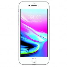 Smartphone Apple iPhone 8 64GB 4G Silver Refurbished, Argintiu, Neblocat