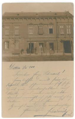 4330 - DETTA, Timis, store, Romania - old postcard - used - 1900 foto