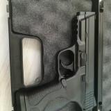 Pistol Airsoft Smith & Wesson Full Metal Foarte Puternic + Muniție si Geanta, We Airsoft