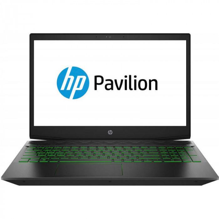 Laptop HP Pavilion 15-cx0002nq 15.6 inch FHD Intel Core i7-8750H 8GB DDR4 256GB SSD nVidia GeForce GTX 1050 Ti 4GB Shadow Black