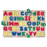 Puzzle Alfabet Litere Mari Si Mici Melissa And Doug, Melissa & Doug
