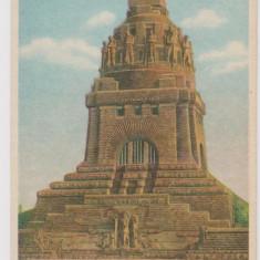 Carte postala monument Leipzig , Germania , necirculata