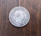 1/6 Thaler 1862 - Moneda rara Argint Germania-Prusia!, Europa