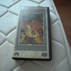 Caseta video VHS originala, Indiana Jones și căutătorii arcei pierdute, 1981, Italiana