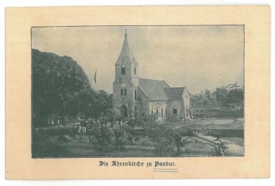 4339 -  PANDURU, Com. Baia, Tulcea, Church, Romania - old postcard - unused foto