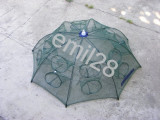 Varsa tip umbrela cu 14 intrari -Capcana pt pestisori cu plasa ecologica 90x90cm
