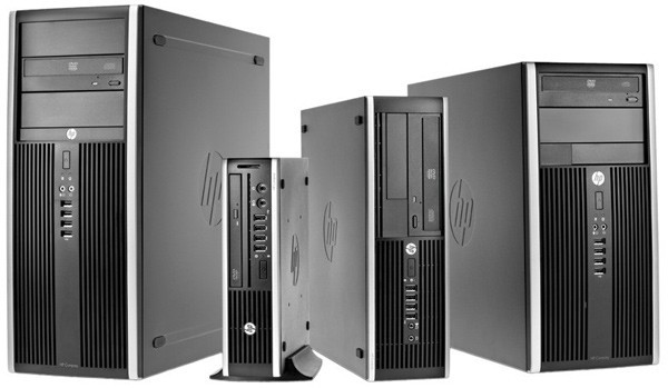 PC HP 8000 , C2D E8500 3.16GHz, 4GB DDR3, HDD 250GB SATA, DVD-Rw