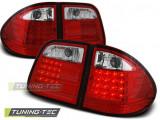 Triple MERCEDES W210 E-KLASA 95-03.02 Combi RED WHITE LED