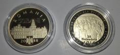 Romania 50 Bani 2018 PROOF 100 de ani de la Unirea Bucovinei cu Romania foto