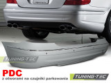 Bara spate tip Tuning MERCEDES W211 02-06 SEDAN AMG PDC