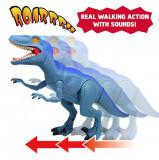 Dinozaur cu lumini si sunete - Velociraptor