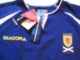 Tricou Diadora fotbal - nationala din SCOTIA, XL, Din imagine