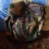Ghiozdan si Geanta Stil Armata, Verde