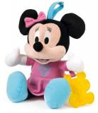 Jucarie De Plus As Baby Clementoni Disney Baby Minnie Early Learning Plush