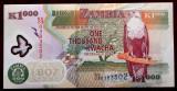 Zambia 1000 1.000 Kwacha 2009 Polymer UNC  necirculata  **