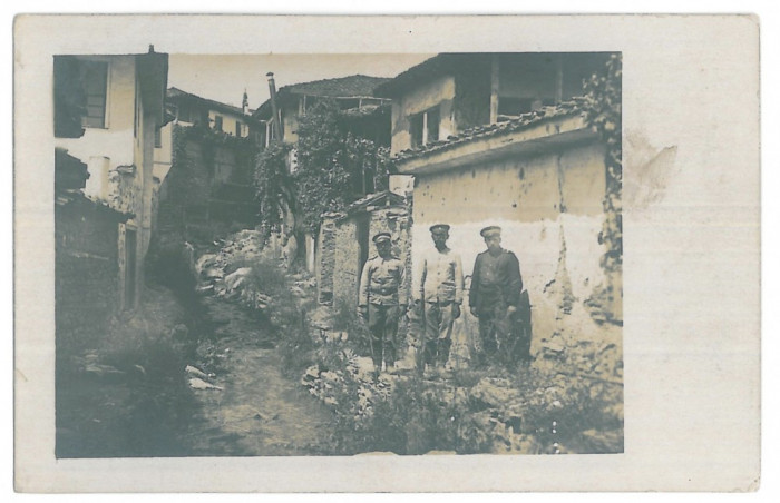 4332 - CONSTANTA, Military, Romania - old postcard, real PHOTO - unused - 1916