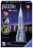 Puzzle 3D Chrysler Building Night Edition (216 Pcs), Ravensburger