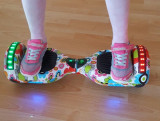 Hoverboard Extreme Balance Junior Spring-floral 6.5 inch