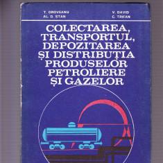 COLECTAREA TRANSPORTUL DEPOZITAREA SI DISTRIBUTIA PRODUSELOR