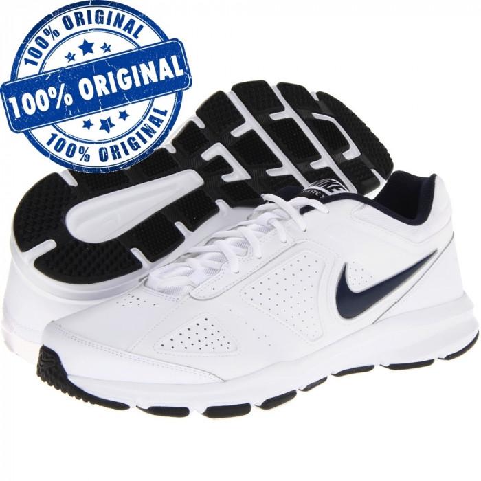 Pantofi sport Nike T-Lite 11 pentru barbati - adidasi originali - piele naturala