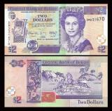 Belize 2014 - 2 dollars UNC
