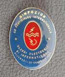 Insigna militara - Razboi electronic si informational - Simpozion international