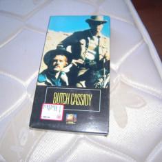 Caseta video originala VHS Butch Cassidy and the Sundance Kid, 1969, prov Italia, Italiana