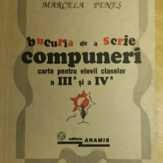 RWX 36 - Bucuria de a scrie compuneri - Marcela Penes