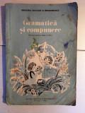 Gramatica si compunere - Manual pentru clasa a III-a, 1986, perioada comunista